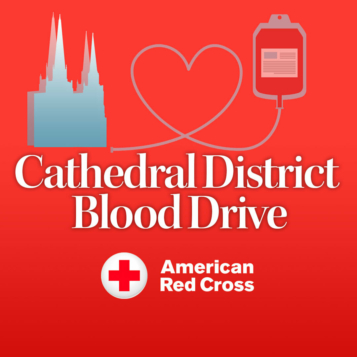 Cathedral District Red Cross Blood Drive