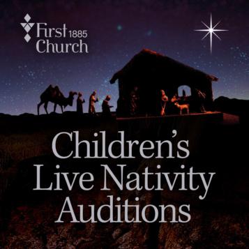 Christmas Eve Nativity Auditions