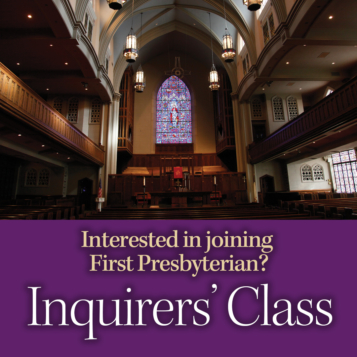 Inquirers' Class